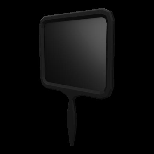 Handheld Mirror 1 3D Model