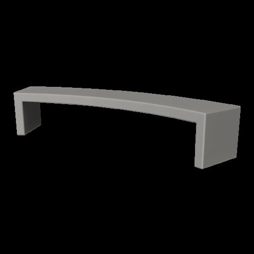 Concrete Bench 2 3D Model