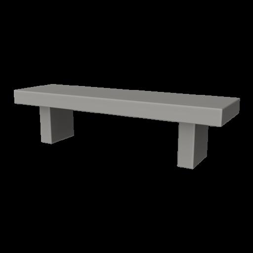 Concrete Bench 3 3D Model