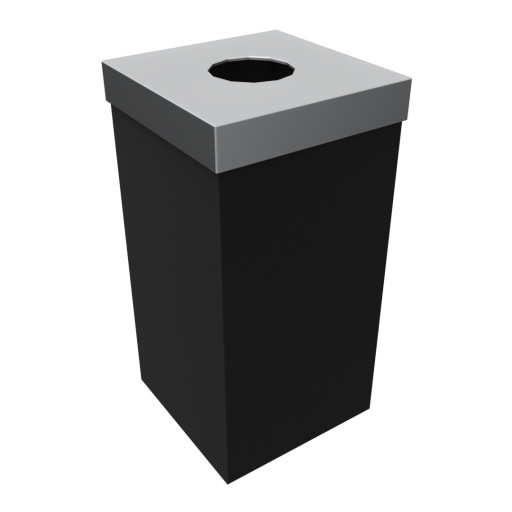 Indoor Trash Can 1 3D Model