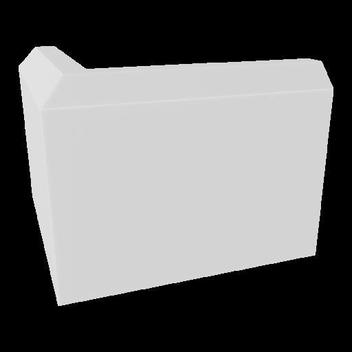 Baseboard 1 - Outside Corner 3D Model