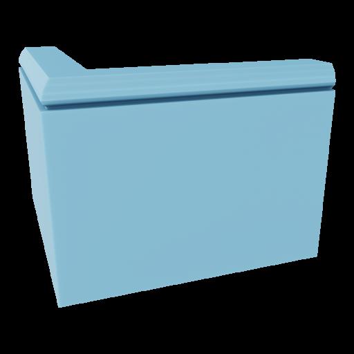 Baseboard 2 - Outside Corner 3D Model