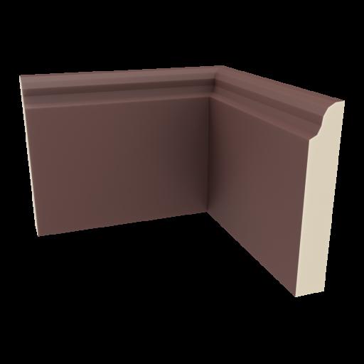 Baseboard 3 - Inside Corner 3D Model