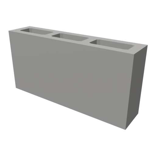 Concrete Block 2 3D Model
