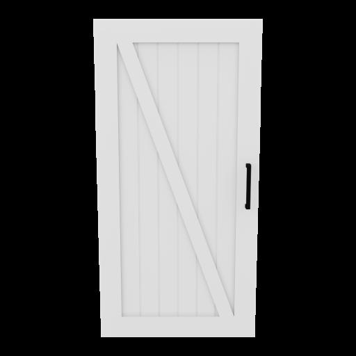 Door 5 - Left 3D Model