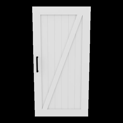 Door 5 - Right 3D Model