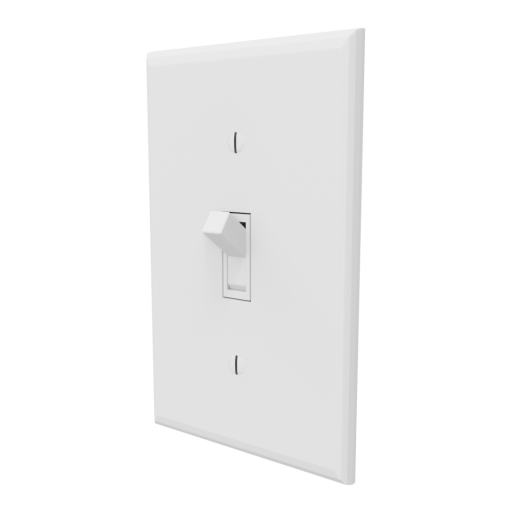 Light Switch Toggle 1 3D Model