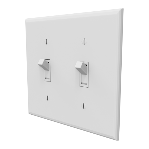 Light Switch Toggle 2 3D Model