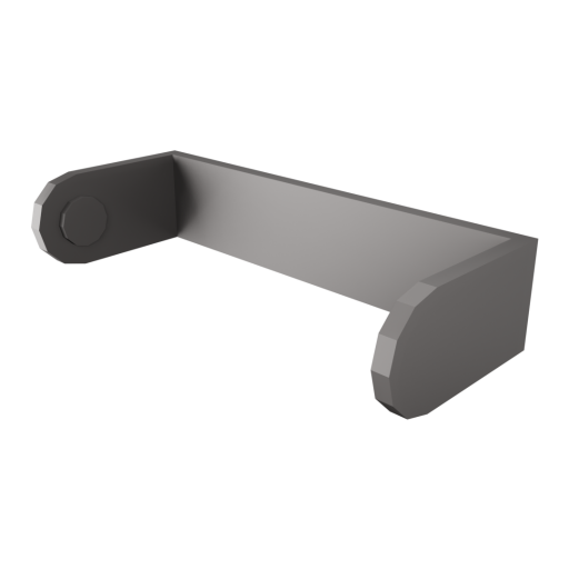 Paper Towel Holder Wall Mount 1 3D Model