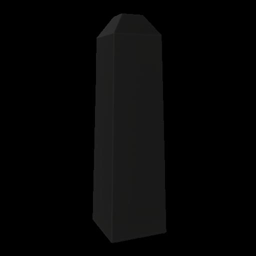 Concrete Bollard 2 3D Model