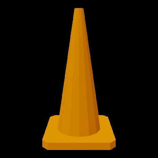 Traffic Cone 1 3D Model