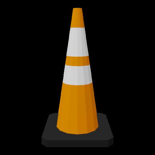 Traffic Cone 4 3D Model