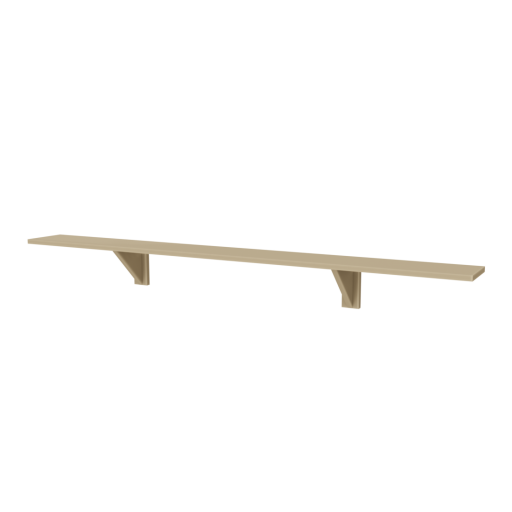 Wood Shelf 1 3D Model