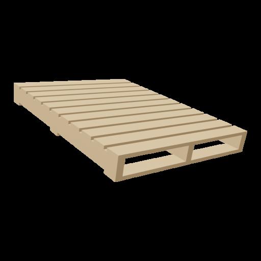 Wood Pallet 1 3D Model