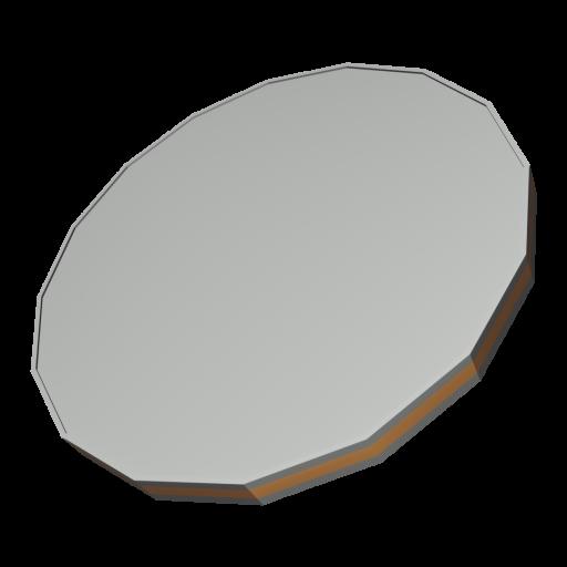 Coin Quarter 1 - United States 3D Model
