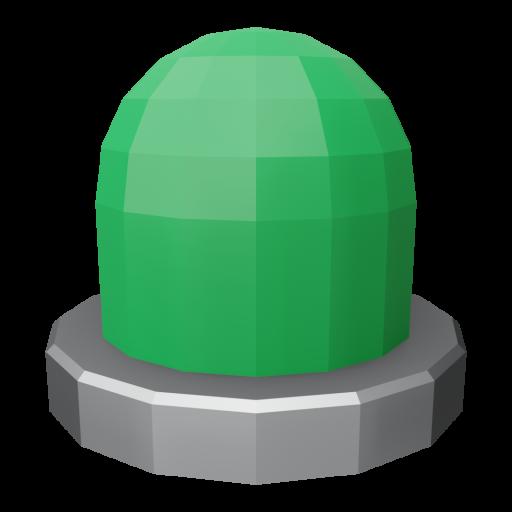 Panel Indicator 1 - Simplified Green 3D Model