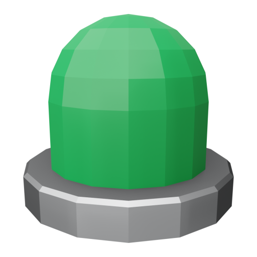 Panel Indicator 1 - Simplified Green 3D Model