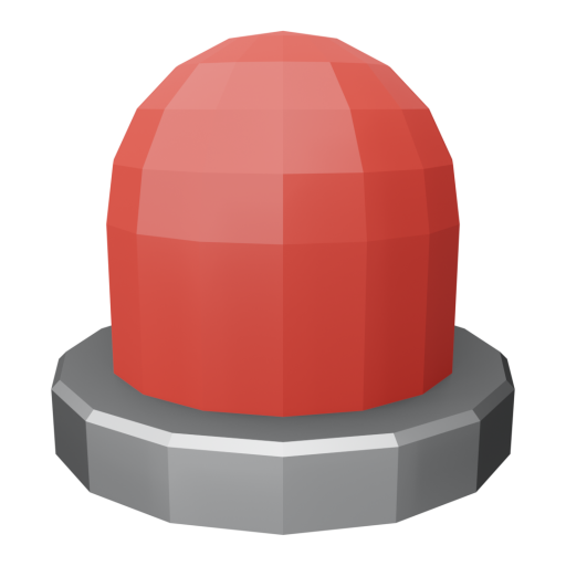 Panel Indicator 1 - Simplified Red 3D Model