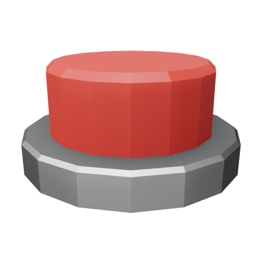 Panel Indicator 2 - Simplified Red 3D Model