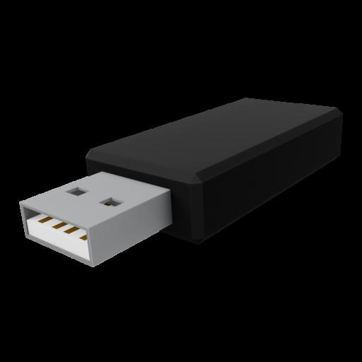 Flash Drive 1 3D Model