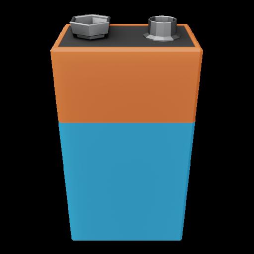 Battery 9V 1 3D Model
