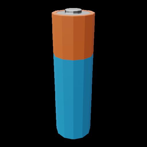 Battery AA 1 3D Model