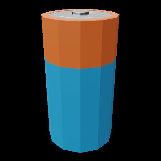 Battery C 1 3D Model
