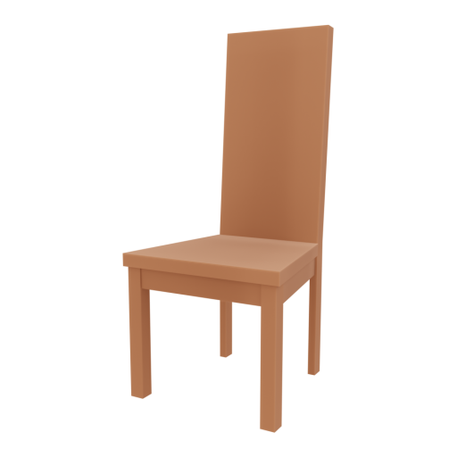 Dining Chair 1 3D Model