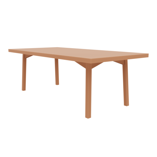 Dining Table 1 3D Model