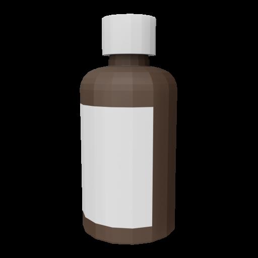 Medicine Bottle 1 - Simplified 3D Model