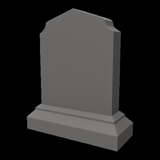 Gravestone 1 3D Model