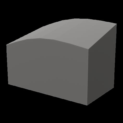 Gravestone 5 3D Model
