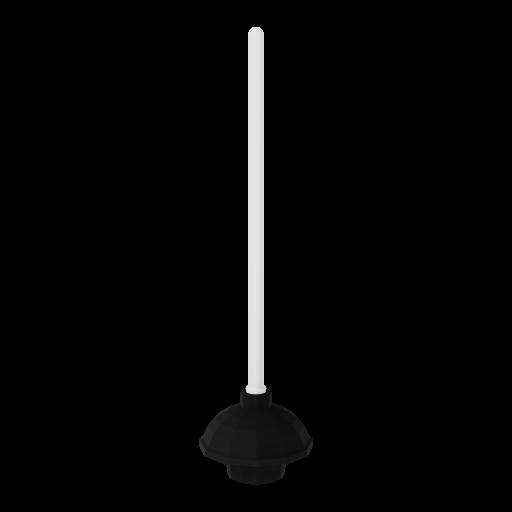 Toilet Plunger 1 3D Model