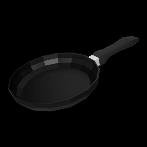 Frying Pan 1 - Small 3D Model