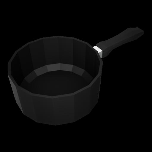 Saucepan 1 - Large 3D Model