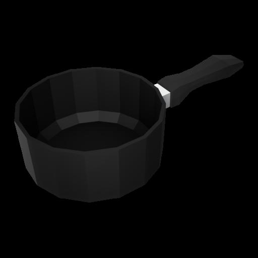 Saucepan 1 - Small 3D Model