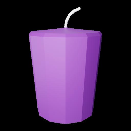 Votive Candle 1 3D Model