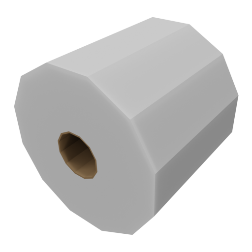 Toilet Paper 1 3D Model