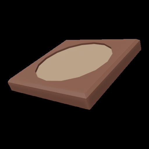 Coaster 1 - Square 3D Model