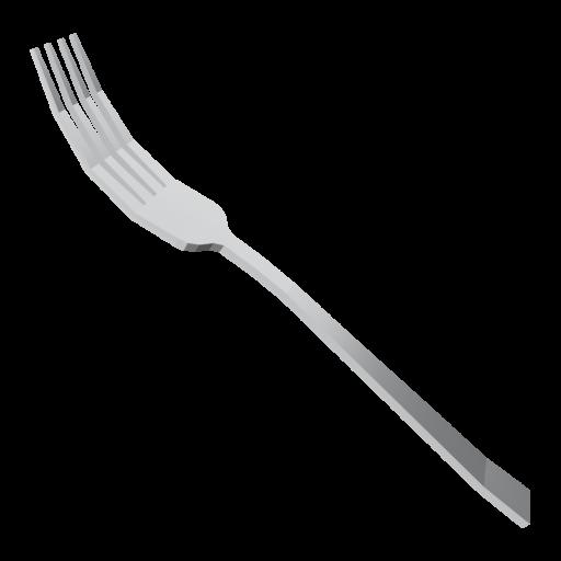 Dinner Fork 1 3D Model