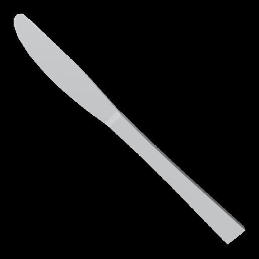 Dinner Knife 1 3D Model