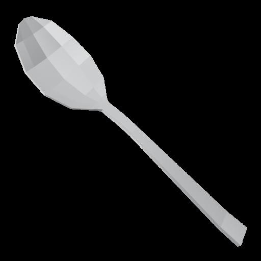 Dinner Spoon 1 3D Model