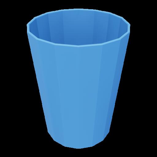 Indoor Trash Can 1 3D Model