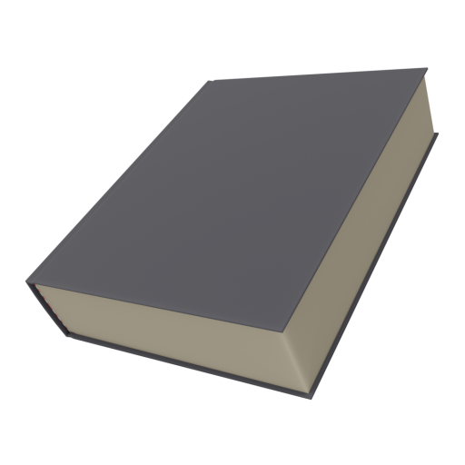 Book 1 - Textbook 3D Model
