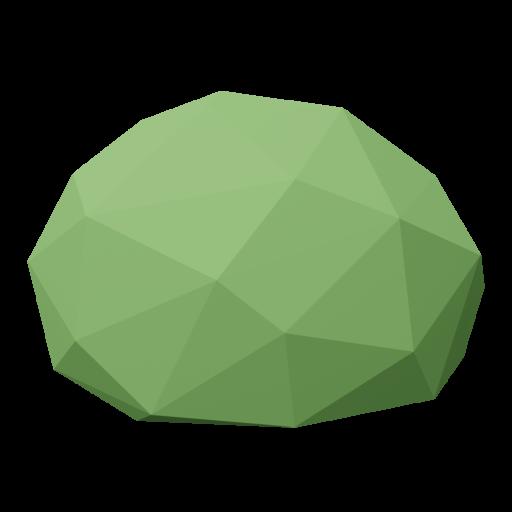 Bush 1 - Green 3D Model