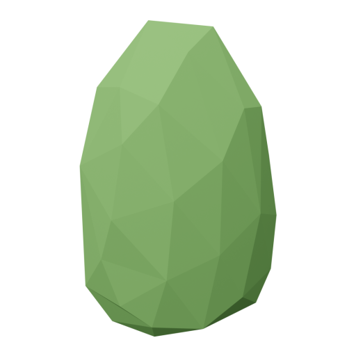 Bush 2 - Green 3D Model