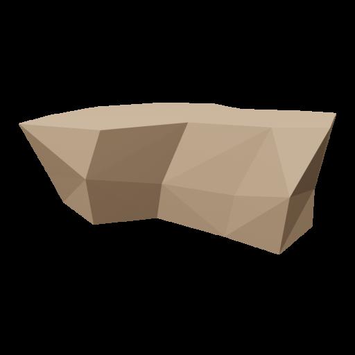 Boulder 5 - Brown 3D Model