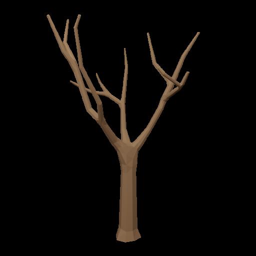 Maple Tree 1 - Dead 3D Model