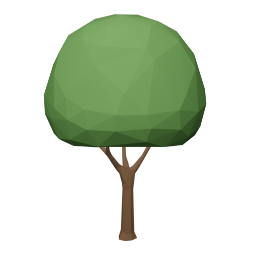 Maple Tree 1 - Green 3D Model