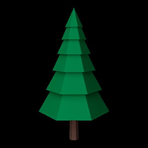 Pine Tree 1 3D Model